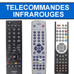 telecommandes infrarouges pour tv